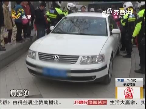 济南:啥手续都没有 套牌就敢上路