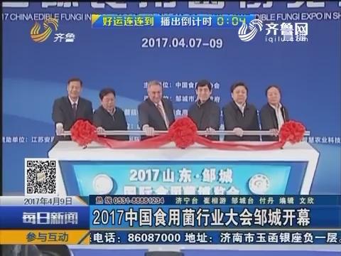 2017中国食用菌行业大会邹城开幕
