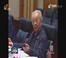 盛华仁率两岸企业家峰会调研组来山东调研
