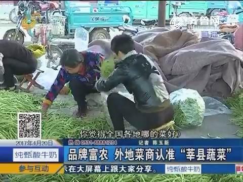 """探索中国""""蔬菜第一县""""——山东莘县(1)"""