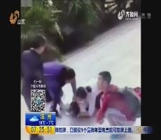 湖北武汉:女童香蕉卡喉 幸遇护士相救
