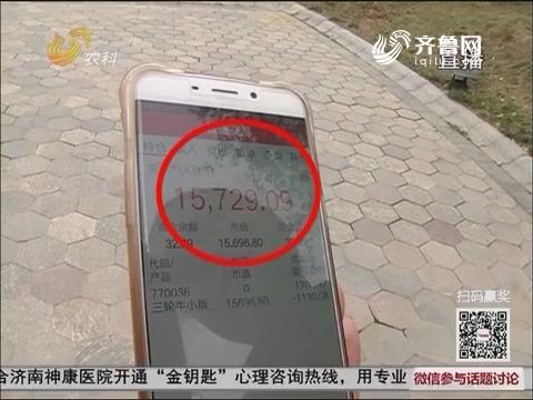 """【理财有陷阱】疯狂!枣庄四十多名市民""""炒邮票""""血本无归"""