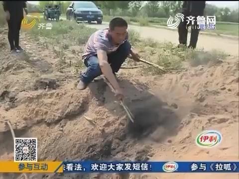 滨州:哭喊!男童双脚被烫伤