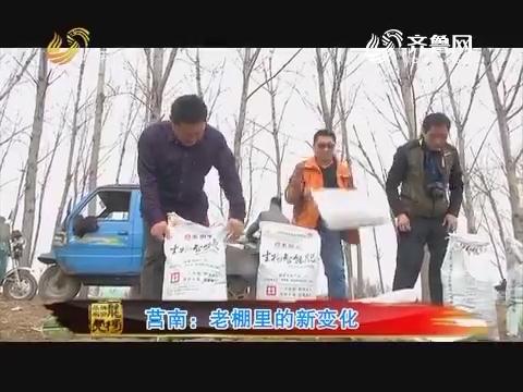 20170530《品牌农资龙虎榜》:莒南 老棚里的新变化