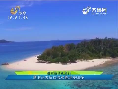 潜水运动正流行 跟随记者玩转潜水胜地美娜多