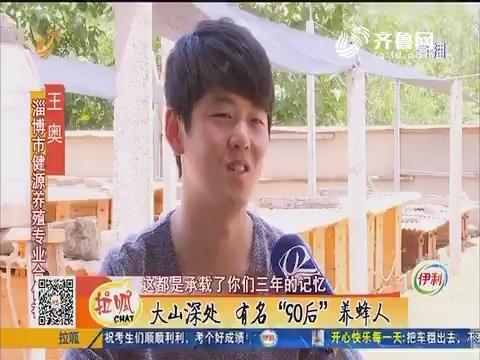"""淄博:大山深处 有名""""90后""""养蜂人"""