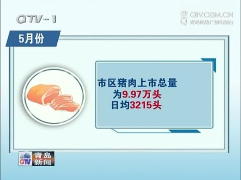 """5月份我市""""菜篮子""""市场货源充足价格持续回落"""