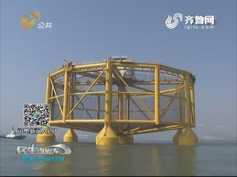 """青岛:""""超级渔场""""完成潜水装载 即将远航"""