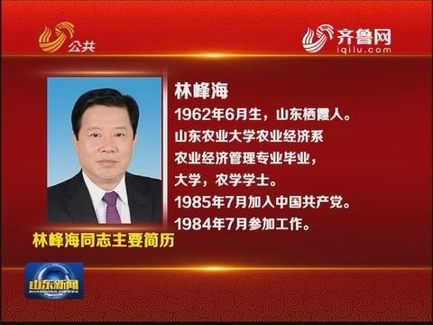 林峰海同志主要简历