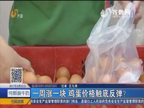 济南:一周涨一块 鸡蛋价格触底反弹?