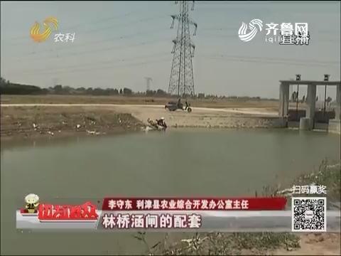 【走基层 看亮点】利津:精准扶贫 三千亩土地旱涝保收
