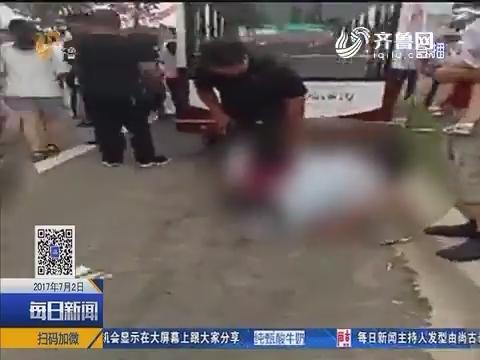 兰陵一景区发生交通事故 4名游客受伤