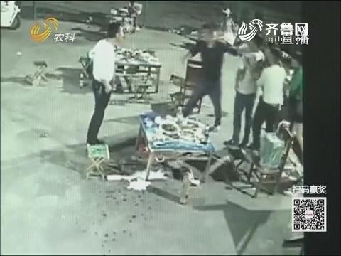 【群众新闻】济宁:酒后胆大撩美女 砸伤老板被刑拘
