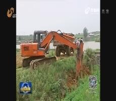 山东:持续强降雨结束 部分农田受灾严重