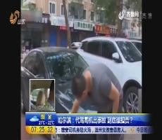 哈尔滨:代驾司机出事故 到底谁担责?