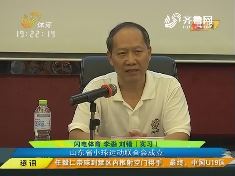 小球运动的改革 山东省小球运动联合会成立