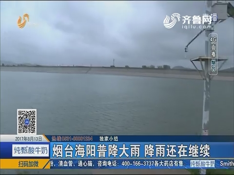 4G直播:烟台海阳普降大雨 降雨还在继续