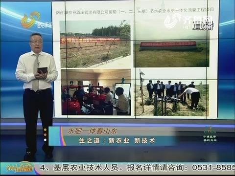 20170815《农科tb988间》:水肥一体看山东 生之道--新农业新技术