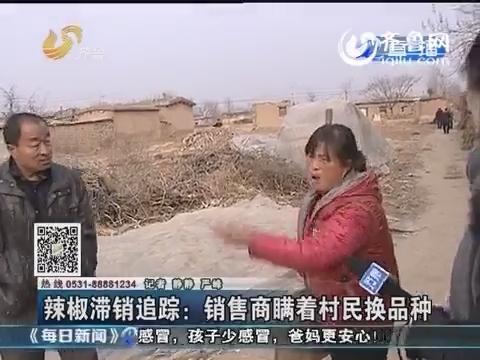 茌平:辣椒滞销追踪 销售商瞒着村民换品种