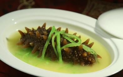 萝卜丝海参浓汤