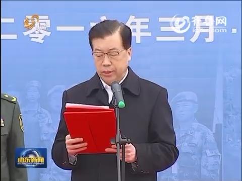 中国第三支赴利比里亚维和警察防暴队完成任务返回济南