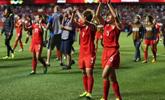 中国女足世界排名连升五位 位列世界第12名