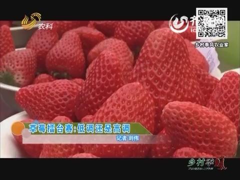 草莓擂台赛:低调还是高调