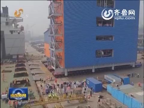中国首次对外输出LNG核心工艺模块