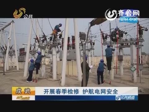 成武:开展春季检修 护航电网安全