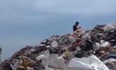 博山一村庄垃圾高数十米 污染严重或影响当地母亲河