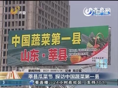 【重磅】莘县瓜菜节 探访中国蔬菜第一县