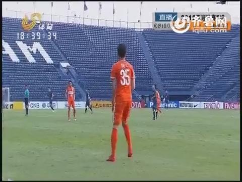 2016亚冠联赛F组:武里南联VS山东鲁能(上半场)