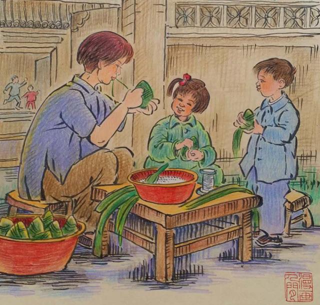 家乡的风4——粽香里的流年