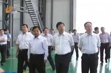 国家发展改革委副主任胡祖才来山东调研