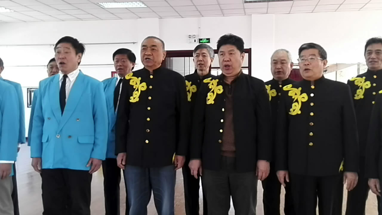 男声小合唱:《我的中国心》