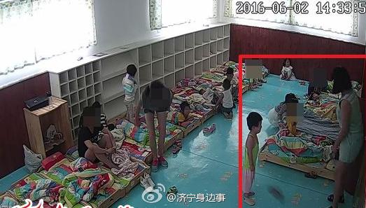 济宁高新区爱德宝幼儿园被曝虐待儿童