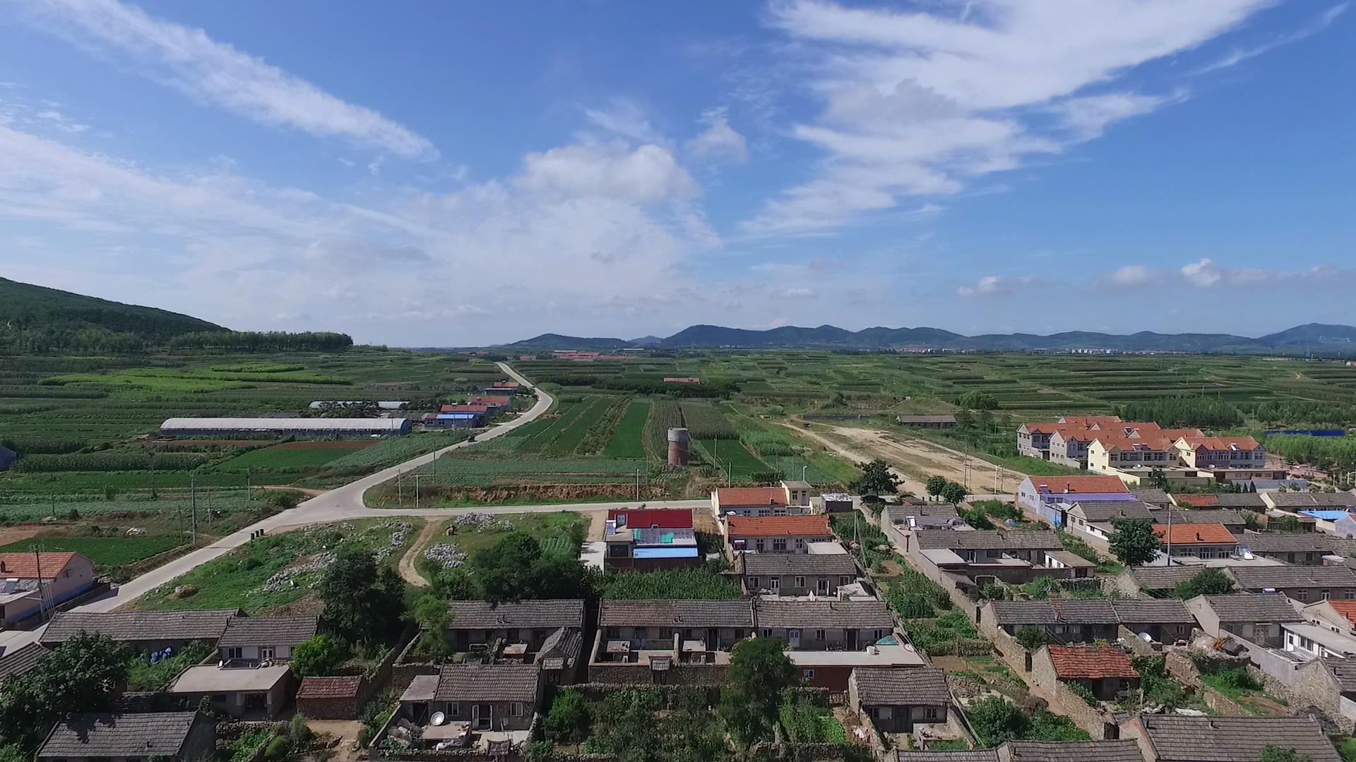 飞越青岛·瞰乡村②:穿越时空的即墨东崔戈庄村