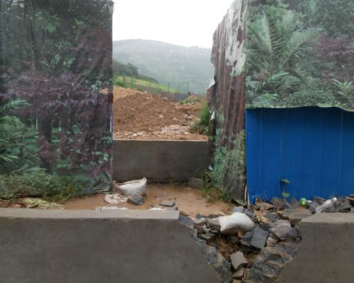 济南华润仰山:下雨如遭泥石流