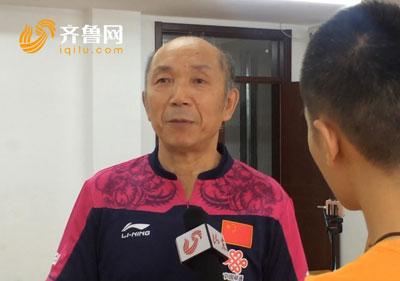 里约奥运会乒乓球女团摘得三连冠 山东乒队总教练祝福李晓霞