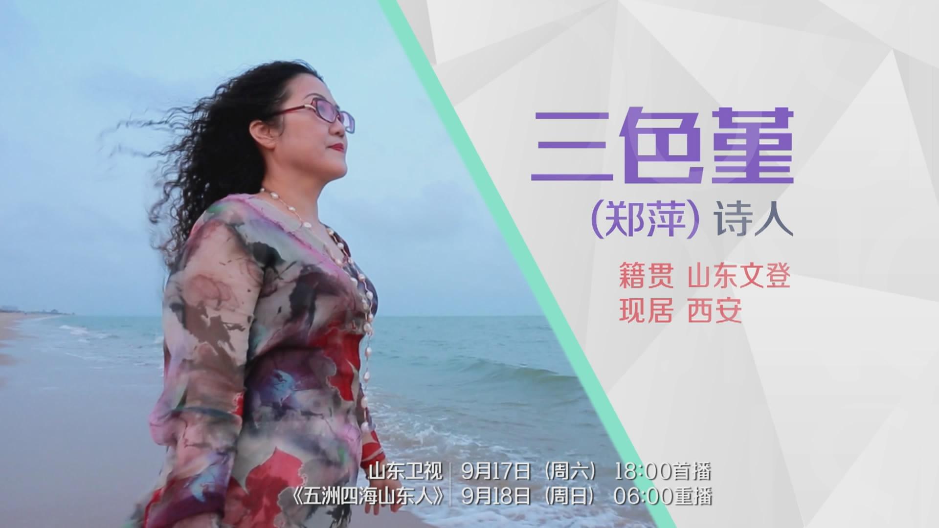 20160917完整版 | 三色堇(郑萍):吟着乡愁 行走他乡