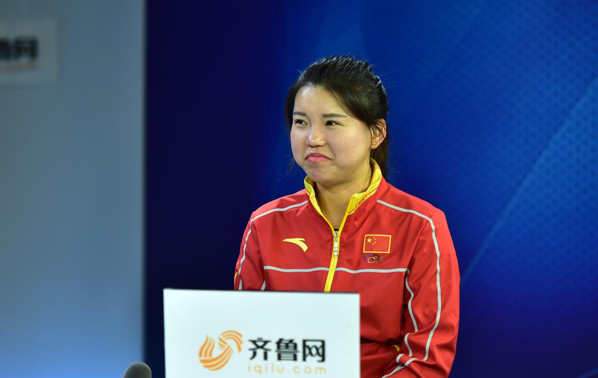 奥运首金张梦雪山东台讲述青春故事