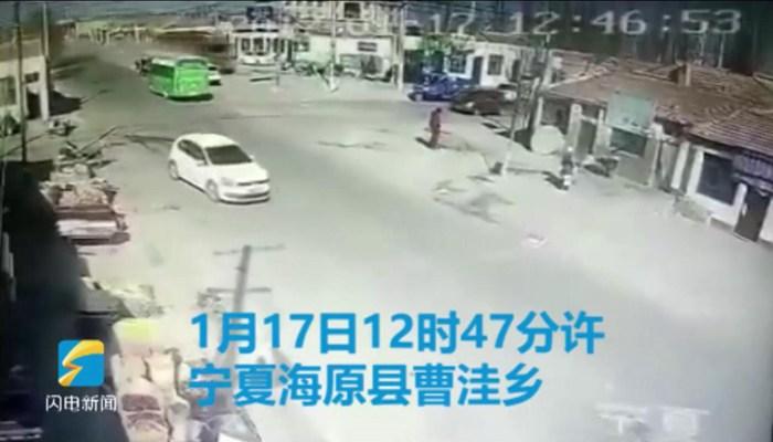 宁夏海原县一大货车冲入民宅已造成5人死亡