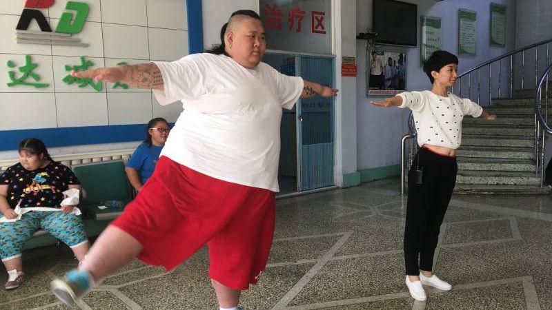 20161225《天下父母》:五百一十斤小伙的瘦身之路