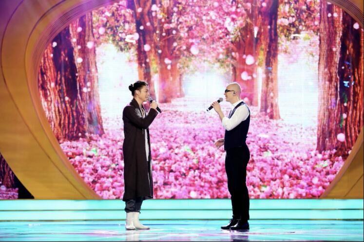 娱乐bigbang | 天籁和声 霍尊、平安《至少还有你》唱酥现场观众