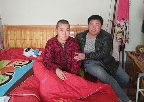 滨州三河湖镇女子患癌 药费每月过万全家陷困境