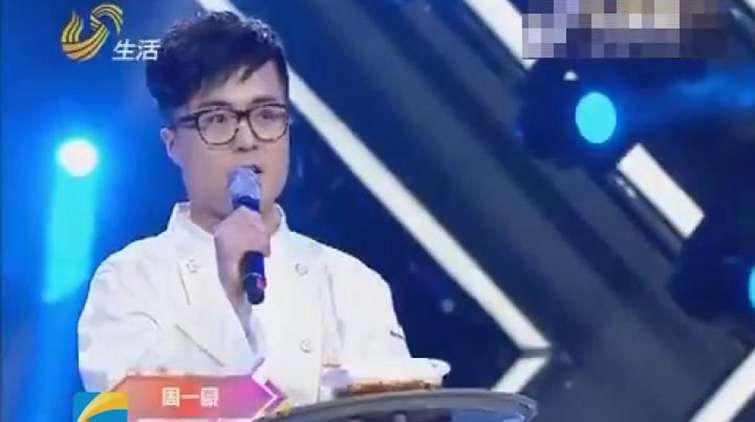 """110秒小鲜肉厨师《让梦想飞》送酸辣粉 细腻声线被赞""""小李健"""""""