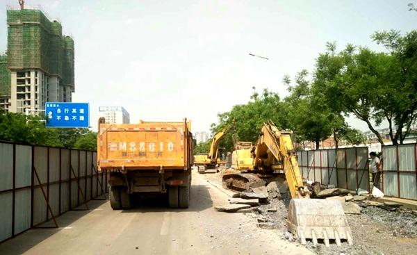 邹平县城南循环水供热改造二期工程全面开工