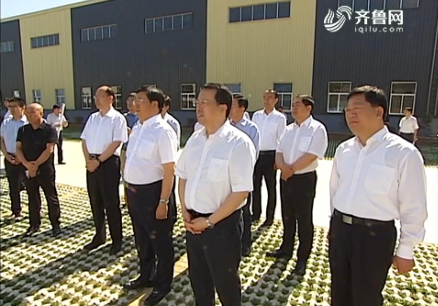 龔正在濟南調研黃河灘區脫貧遷建等工作