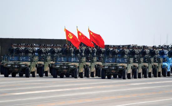 视频回放:庆祝中国人民解放军建军90周年阅兵
