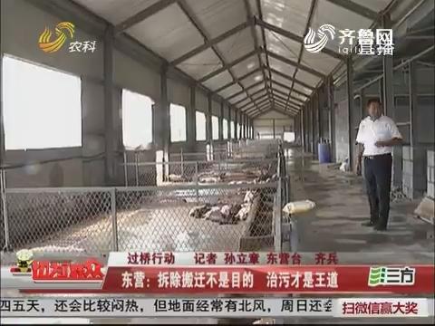 【过桥行动】东营:拆除搬迁不是目的 治污才是王道